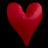 Červené srdce, 1,5 m
