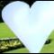 Bílé srdce, 1,5 m